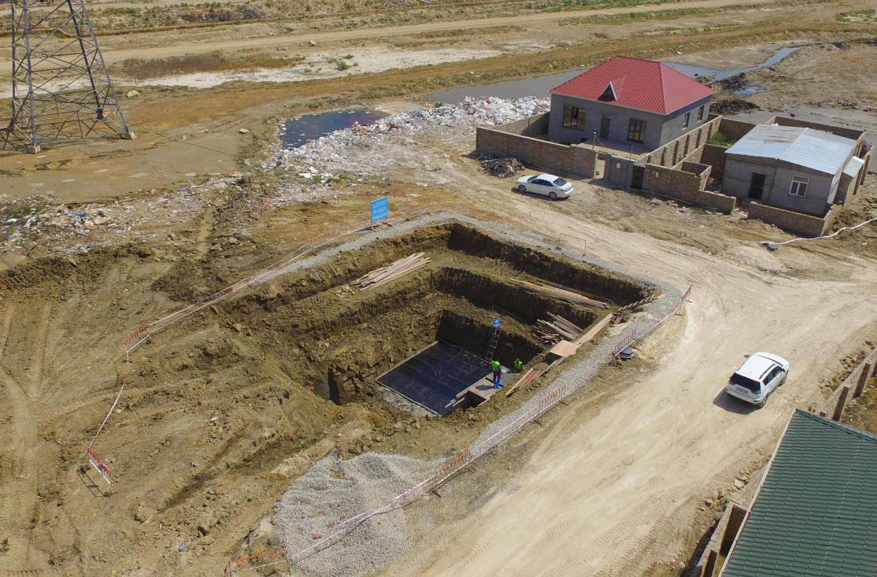 В Баку начали масштабные дренажные работы