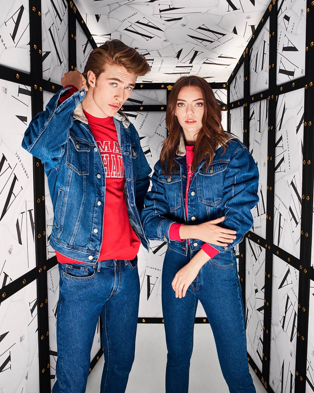 Риск, бунт и смешение стилей – Armani Exchange представляет осенне-зимнюю коллекцию!