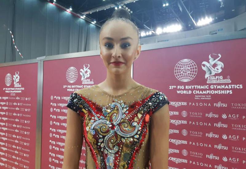 Мы следим за успехами азербайджанских гимнасток – участница  Чемпионата мира в Баку из Узбекистана