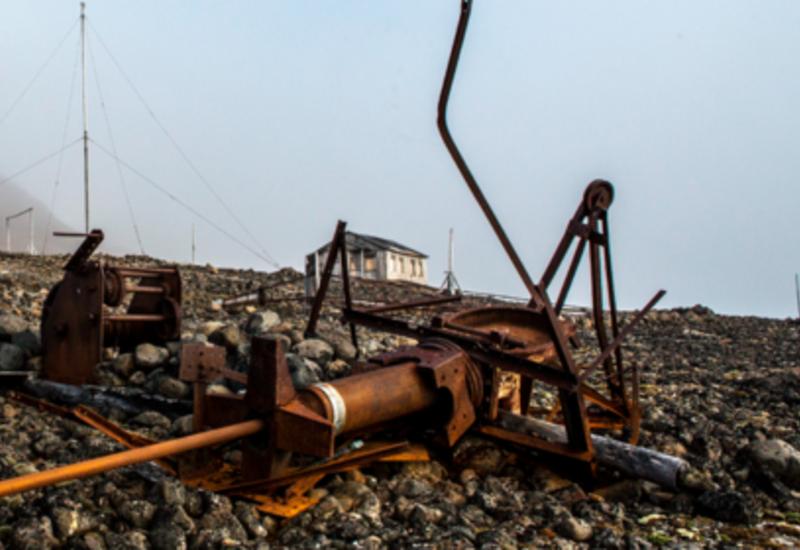 В Арктике собрали сотни тонн металлолома