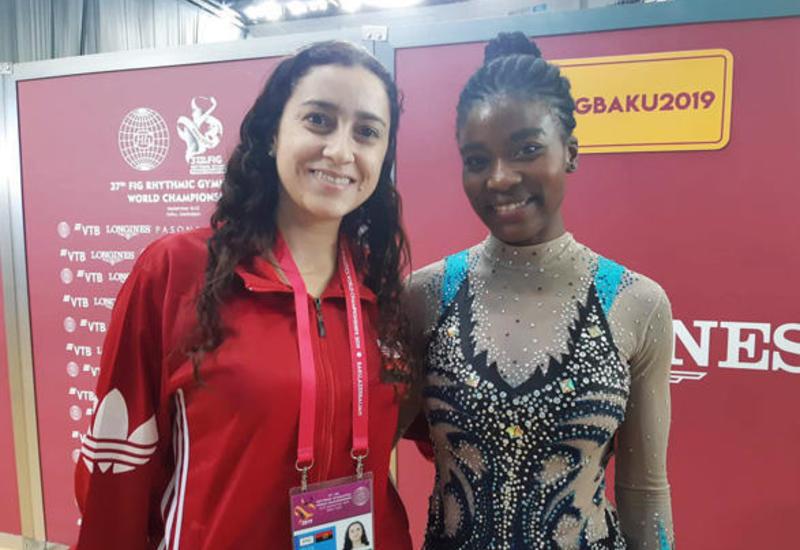Для меня честь выступать в Национальной арене гимнастики в Баку - спортсменка из Анголы