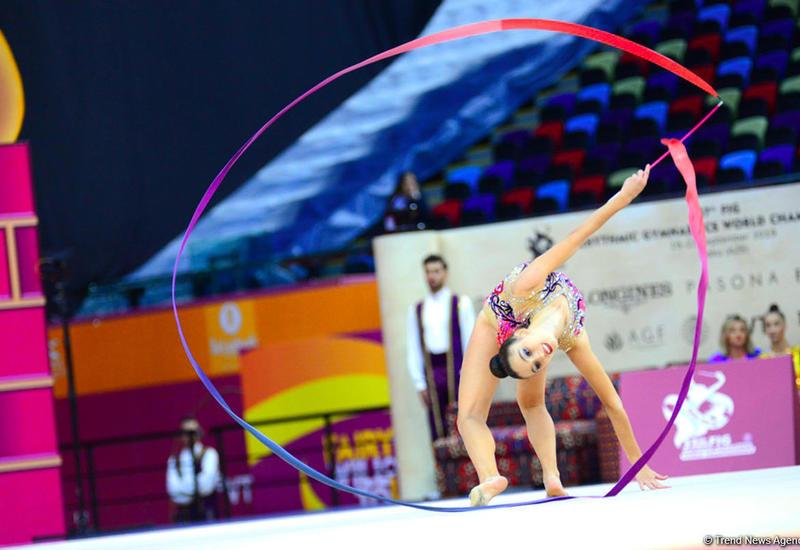 Интересные моменты третьего дня Чемпионата мира по художественной гимнастике в Баку