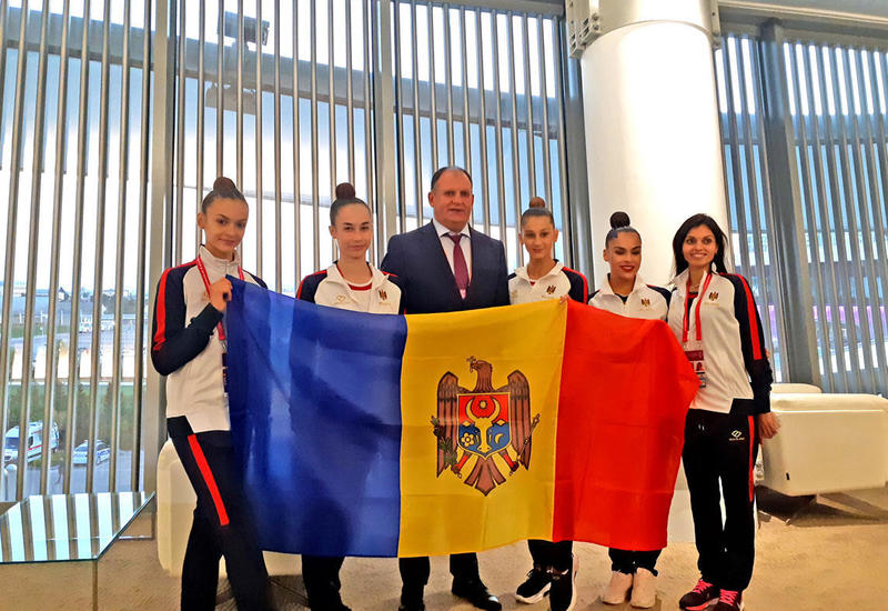 Посол Молдовы в Азербайджане встретился со спортсменками в рамках 37-го Чемпионата мира по художественной гимнастике