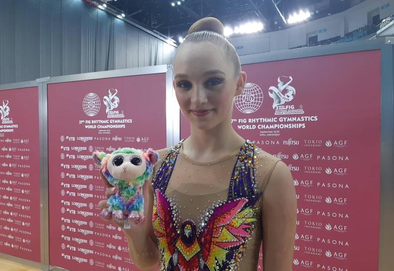 На Национальной арене гимнастики в Баку созданы замечательные условия – израильская гимнастка