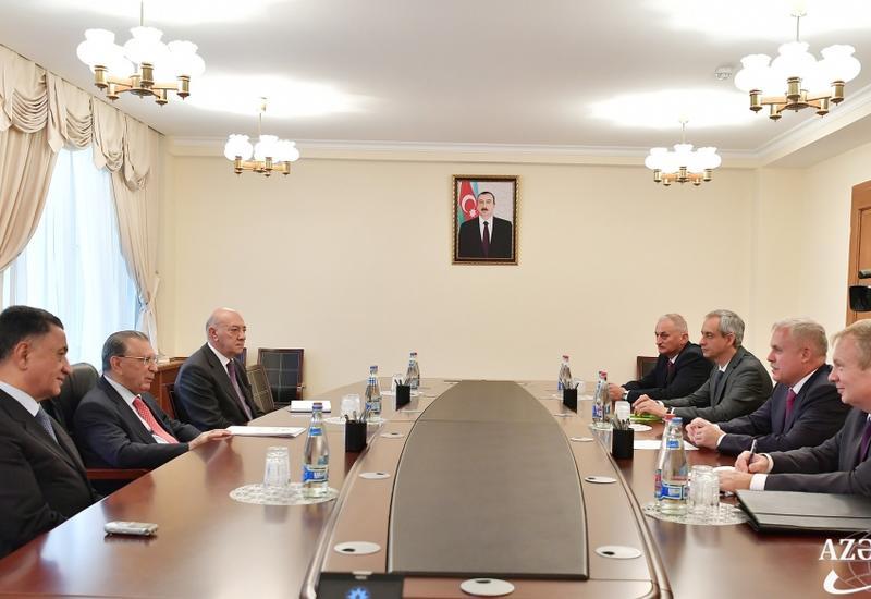 Руководитель Администрации Президента Азербайджана встретился с госсекретарем Совета безопасности Беларуси