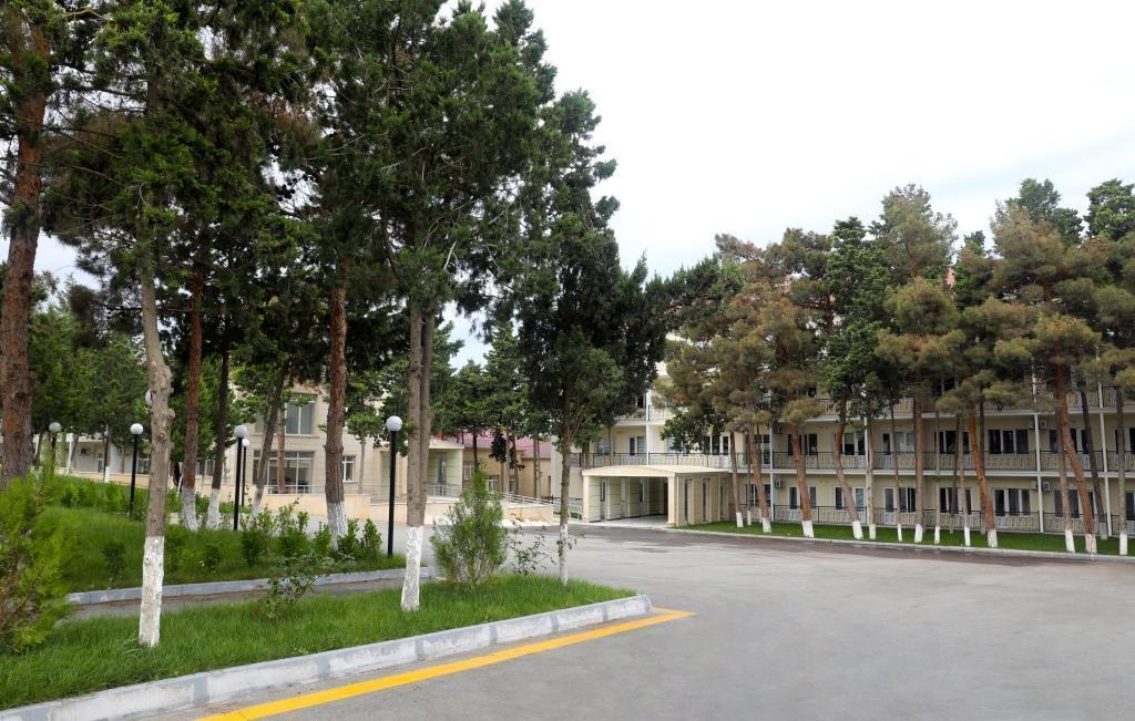 Названы сроки завершения ремонта и реконструкции Мардакянского лечебного пансионата