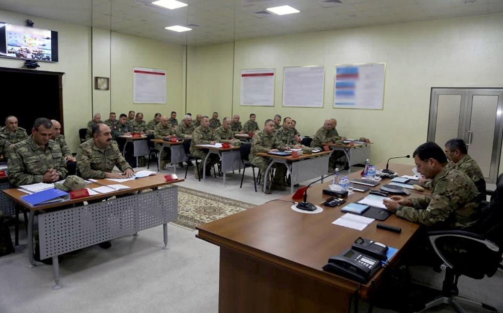 Закир Гасанов поставил задачи перед командирами
