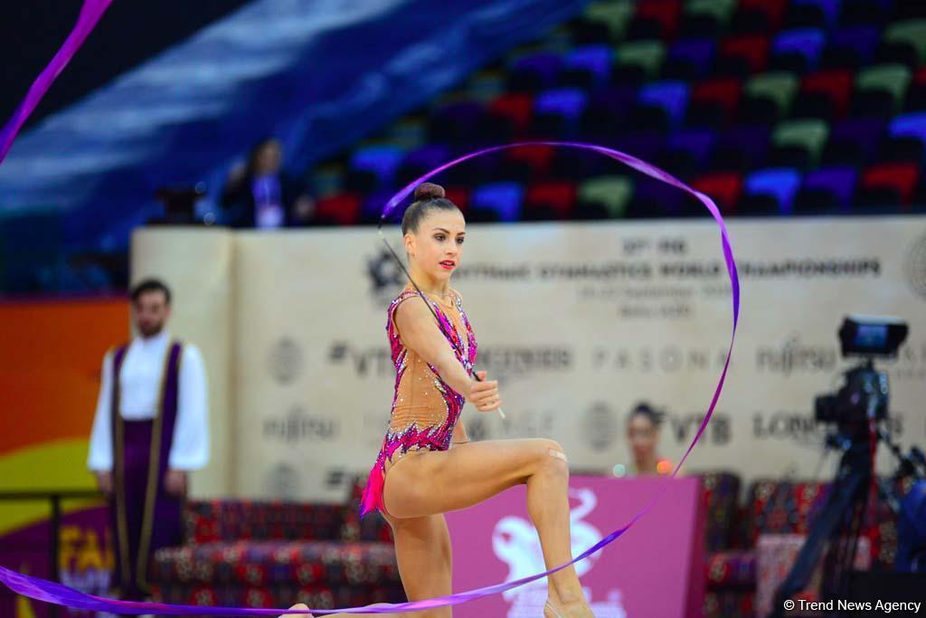 Праздник гимнастики в Баку: фоторепортаж с третьего дня Чемпионата мира