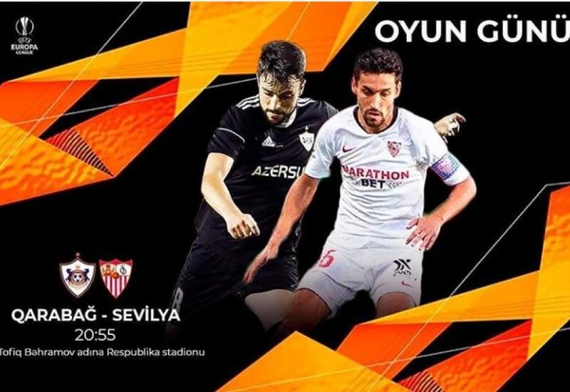 """""""Qarabağ"""" və """"Sevilya"""" komandalarının start heyətləri açıqlanıb"""