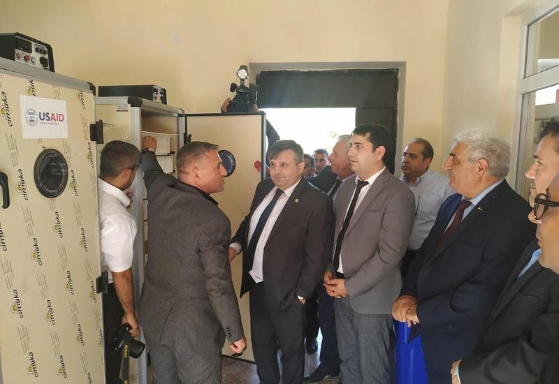 В двух районах Азербайджана ввели в строй инкубаторные пункты