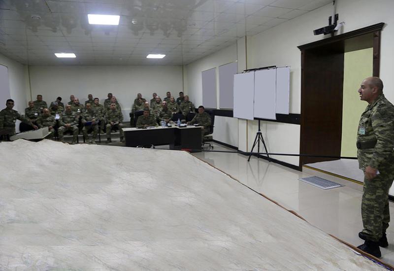 Масштабные учения азербайджанской армии: Отработано взаимодействие войск на макете местности