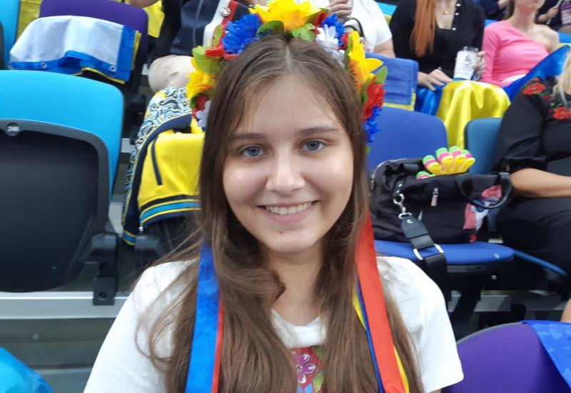 Я еще не видела таких залов – зрительница из Украины о Национальной арене гимнастики в Баку