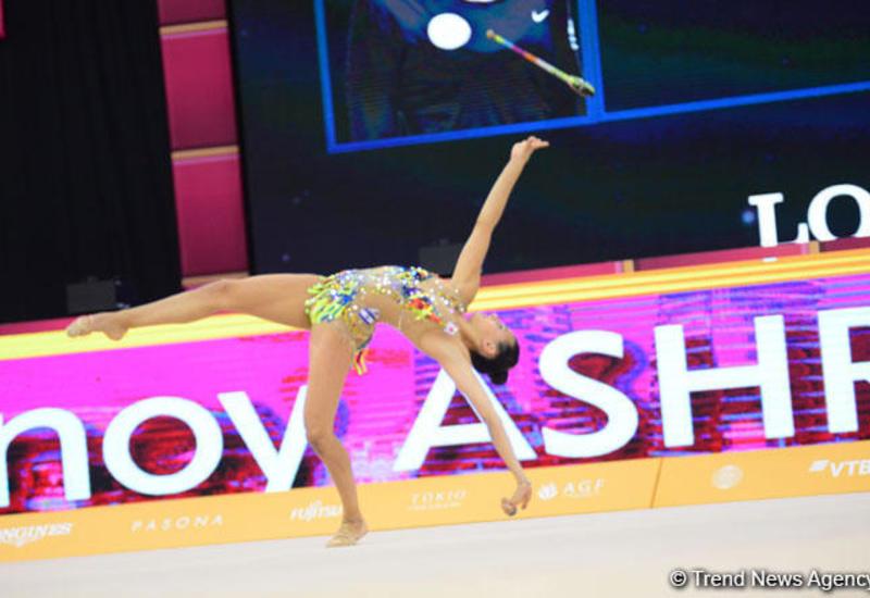 В Баку проходят финалы 37-го Чемпионата мира по художественной гимнастике