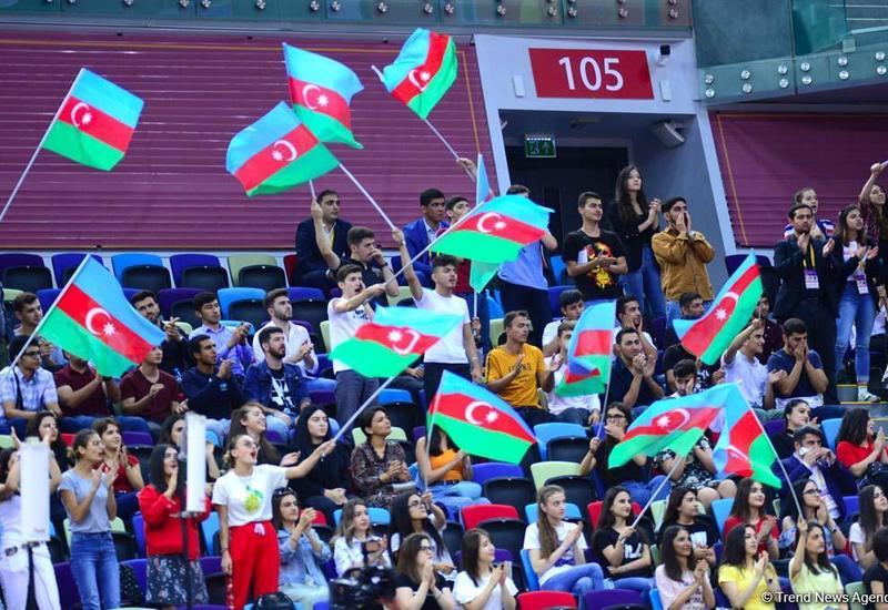 Зрители со всего мира наслаждаются праздником гимнастики в Баку