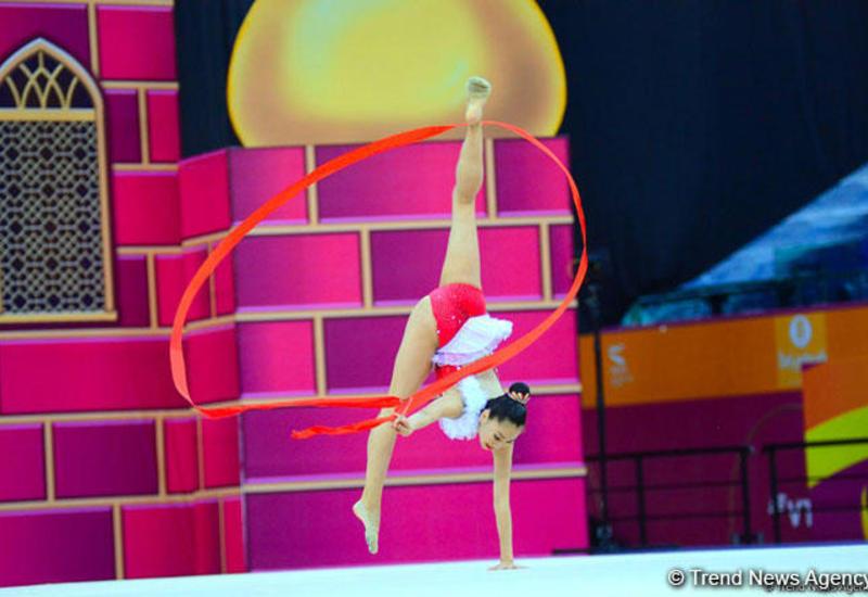 Определились финалистки Чемпионата мира по художественной гимнастике в упражнениях с лентой
