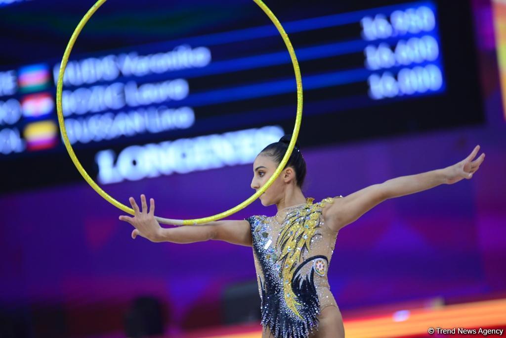 Азербайджанская гимнастка Зохра Агамирова прошла в финал многоборья Чемпионата мира