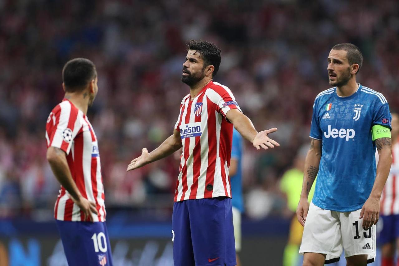 «Ювентус» упустил победу над «Атлетико» в матче Лиги чемпионов