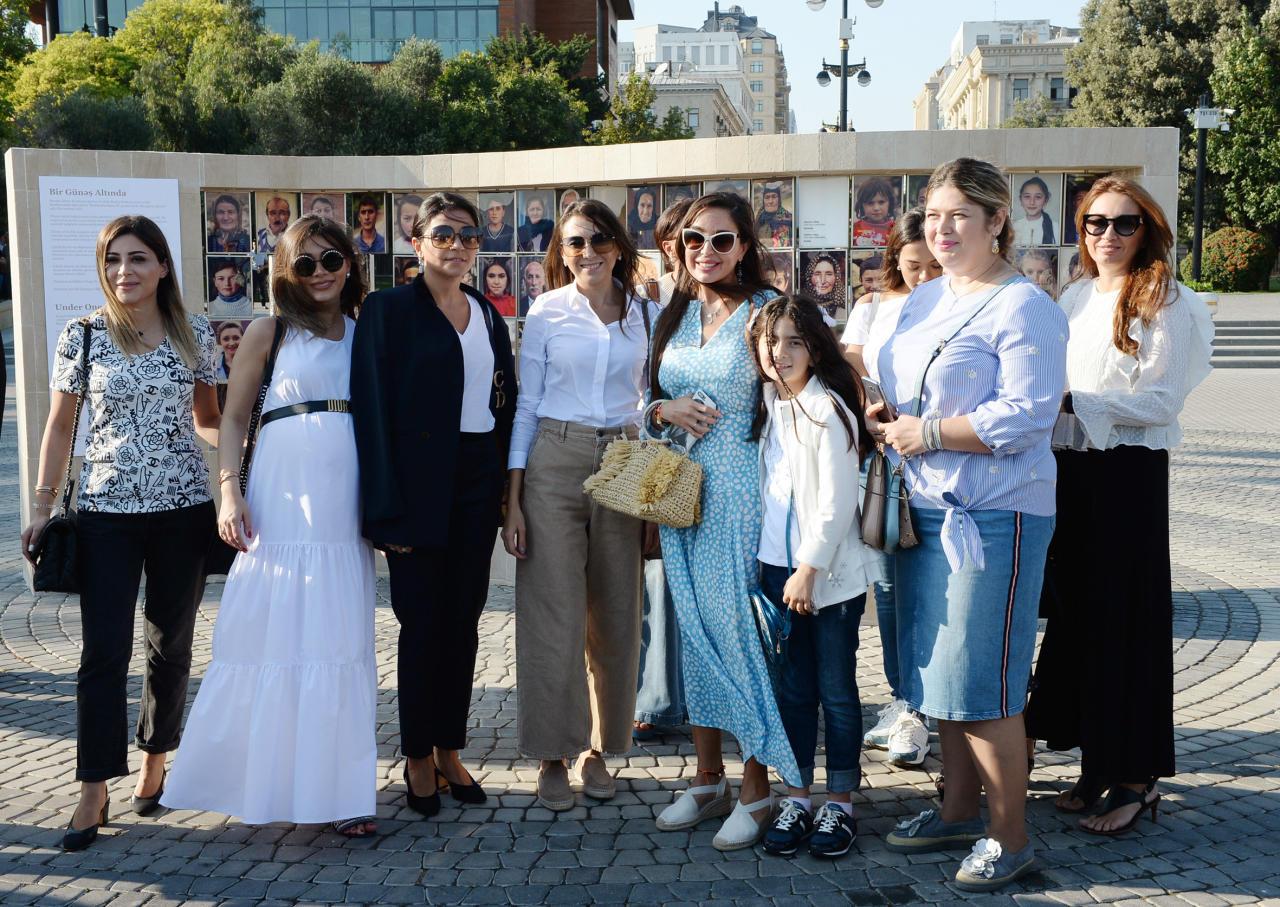 Вице-президент Фонда Гейдара Алиева Лейла Алиева приняла участие в открытии фотовыставки, посвященной мультикультуральным ценностям Азербайджана