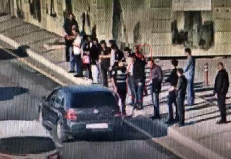 В Баку арестован пешеход, учинивший конфликт с сотрудником дорожной полиции