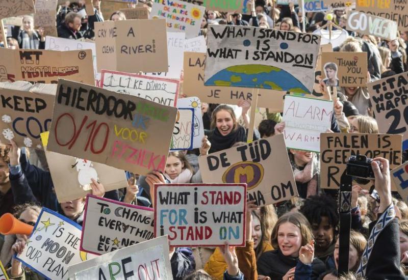В 156 странах мира пройдут климатические забастовки