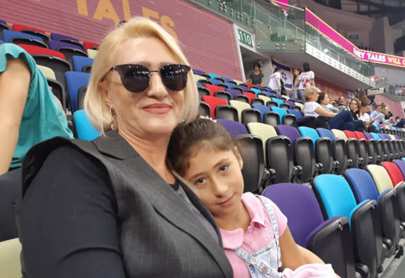 В Азербайджане развиваются все виды гимнастики – зрительница