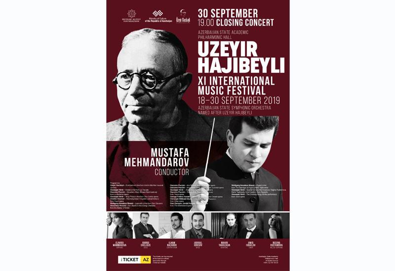 В Филармонии пройдет торжественная церемония закрытия Фестиваля Узеира Гаджибейли