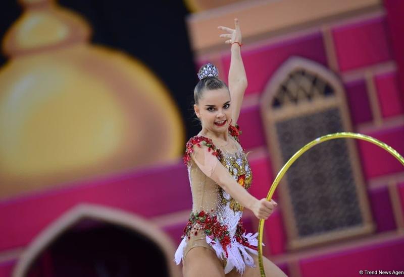 Российская гимнастка Дина Аверина рассказала о поддержке азербайджанских зрителей