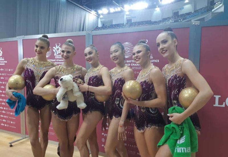 Национальная арена гимнастики в Баку – это восторг -  немецкая гимнастка