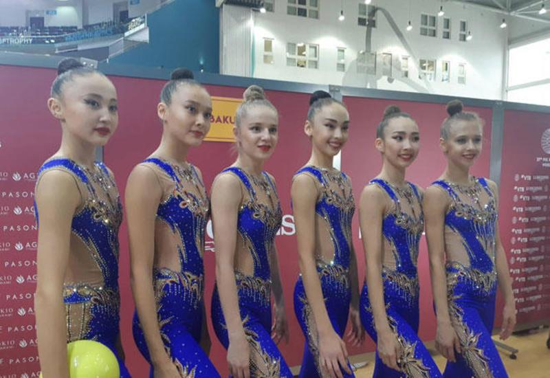 На Чемпионат мира в Баку приехали с боевым настроем – гимнастки из Казахстана