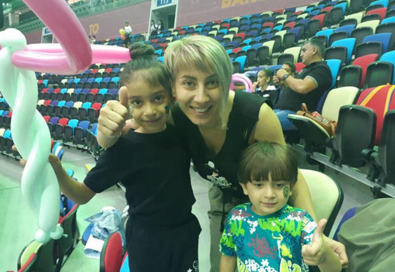 Достижения Зохры Агамировой - пример для юных спортсменов – зрительница Чемпионата мира в Баку