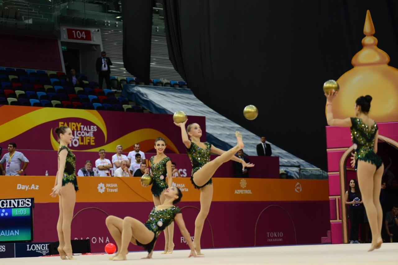 Команда Азербайджана в групповых упражнениях завоевала лицензию на Олимпийские игры-2020 в Токио