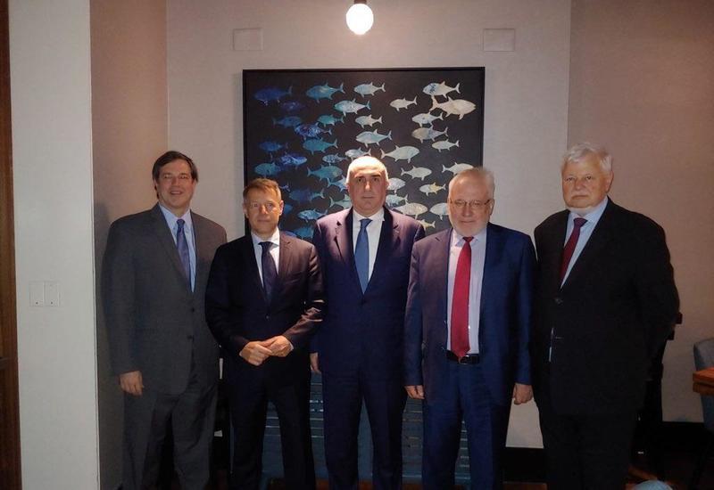 В США началась встреча Эльмара Мамедъярова с сопредседателями МГ ОБСЕ