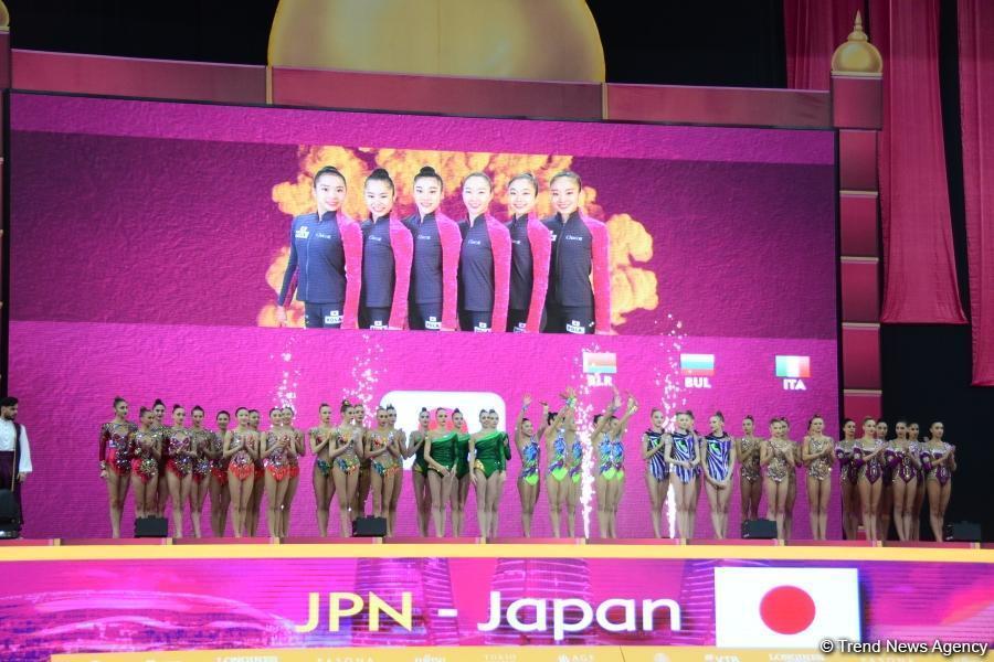 В Национальной арене гимнастики проходит заключительный день соревнований Чемпионата мира
