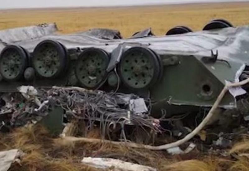 Две боевые машины ВДВ России разбились при десантировании