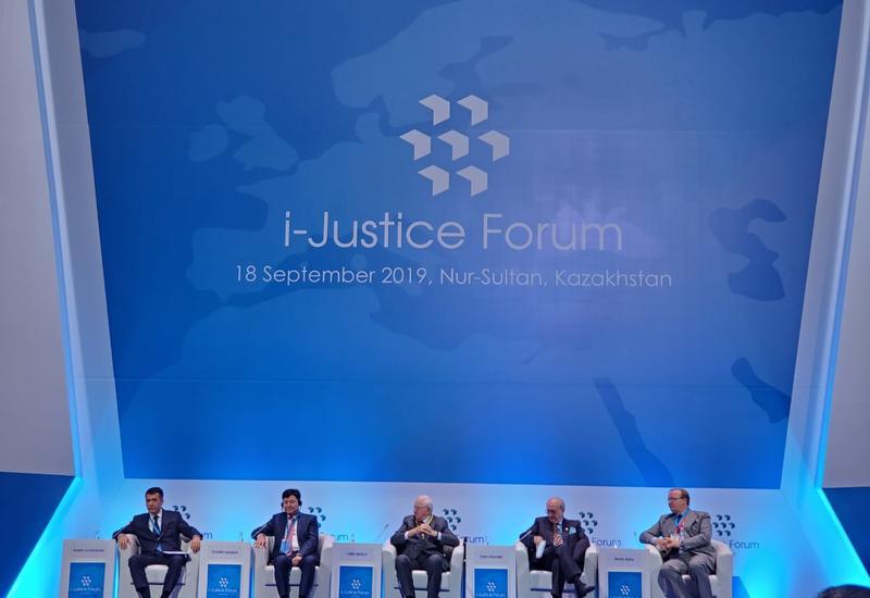 В Казахстане состоялся Международный форум юстиции мирового масштаба