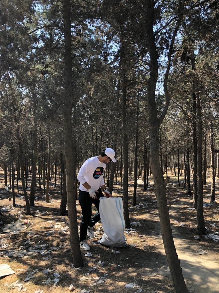 """""""Gilan Holding"""" World Cleanup Day hərəkatına qoşulub"""