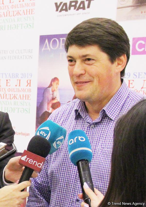 В Баку открылась Неделя российских фильмов