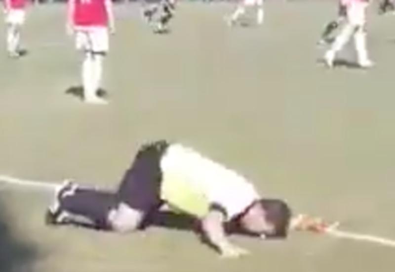 Футбольный судья отработал матч пьяным и рассмешил болельщиков