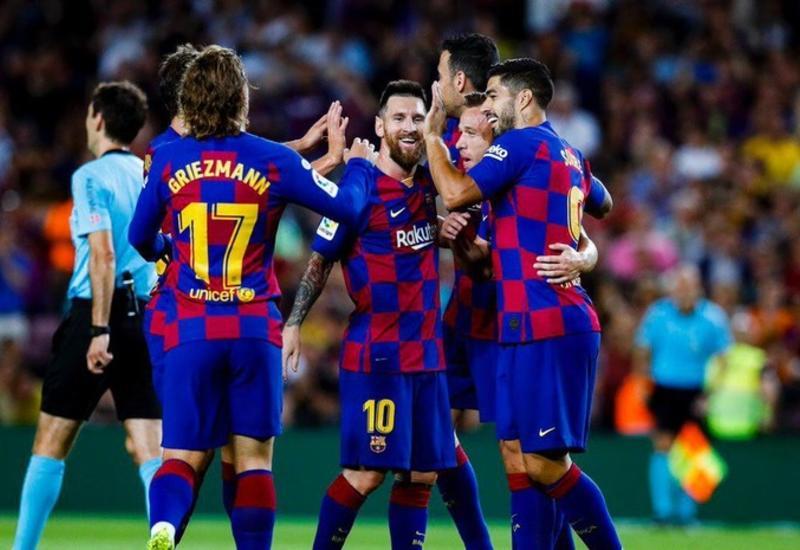 «Барселона» дома обыграла «Вильярреал»