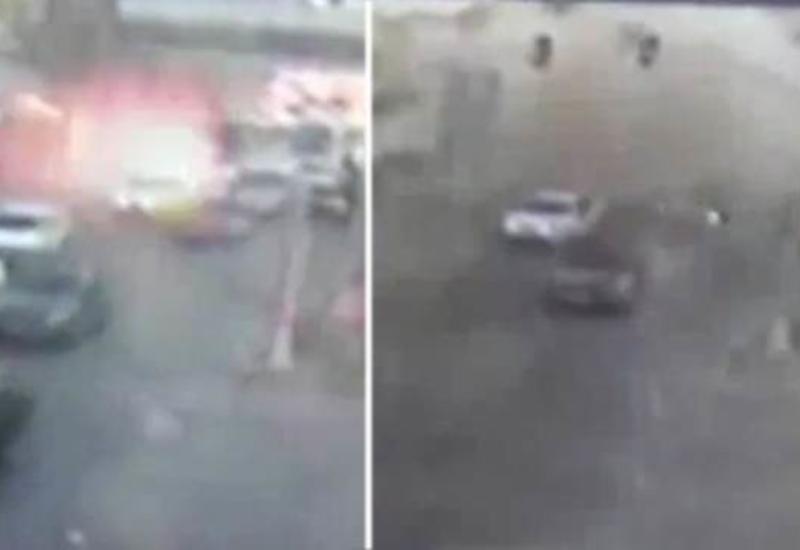 Камеры сняли момент взрыва полицейского автобуса в Турции