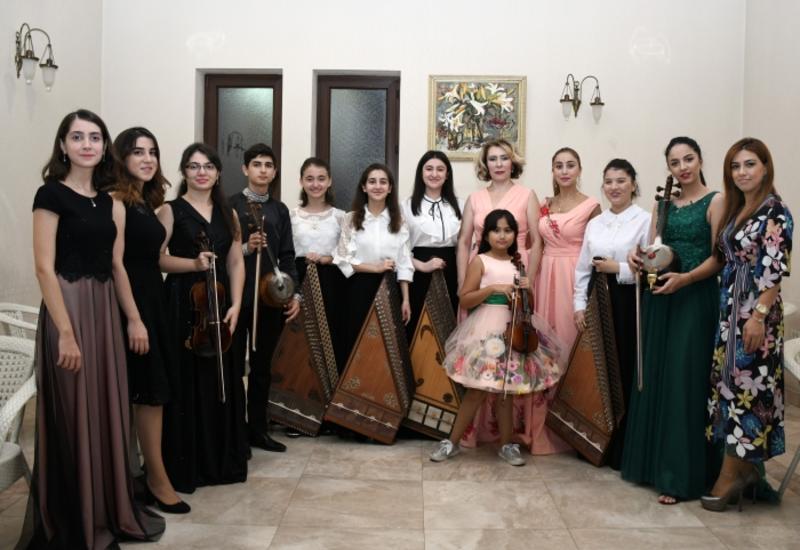 """Проект Филармонии """"Gənclərə dəstək"""" принял участие в Фестивале Узеира Гаджибейли"""