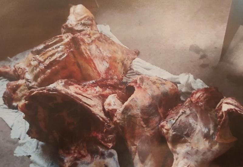 В Гяндже обнаружили сотни килограммов непригодной к потреблению говядины