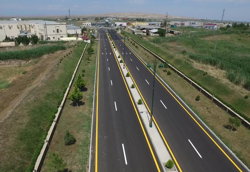 На строительство автодороги в Геранбое выделено 3 млн манатов