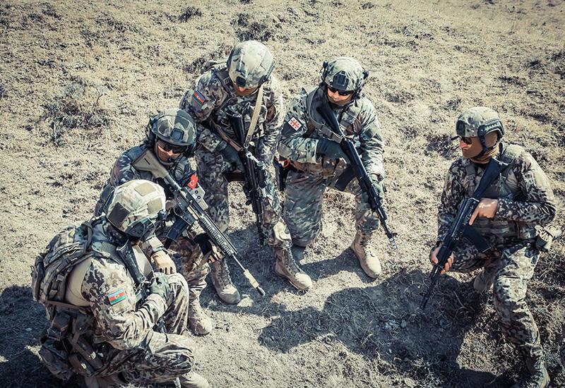 Совместные учения спецназов Азербайджана, Турции и Грузии