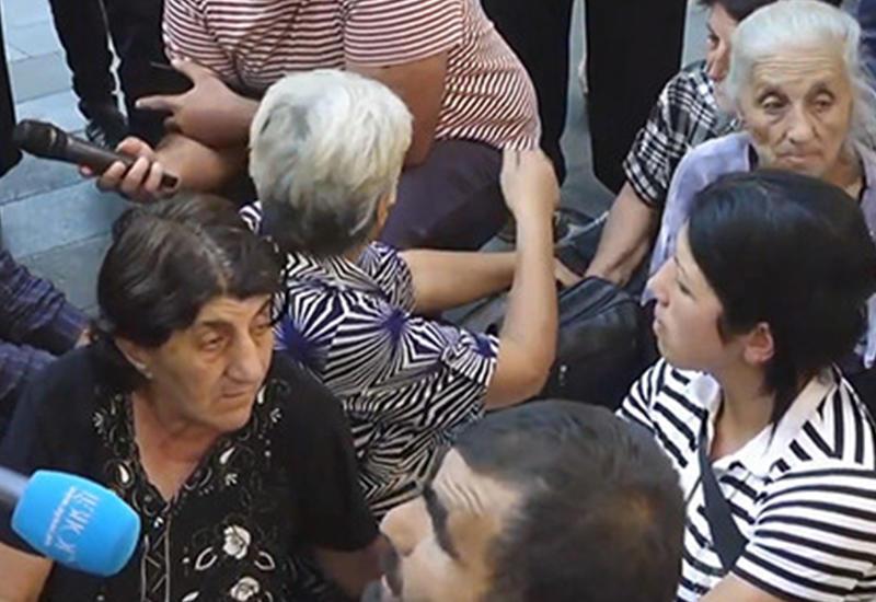 "Участники акции протеста в Ереване пригрозили ""разбить"" Пашиняна"