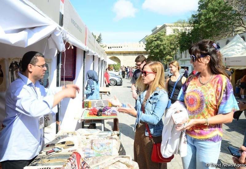 В рамках Фестиваля Насими состоялось открытие Бакинского международного фестиваля ремесленников
