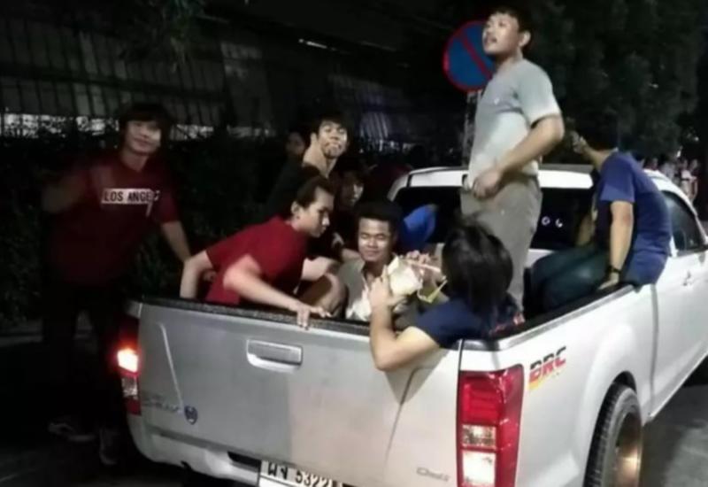 В Таиланде пикап со студентами попал в тяжелое ДТП, много погибших