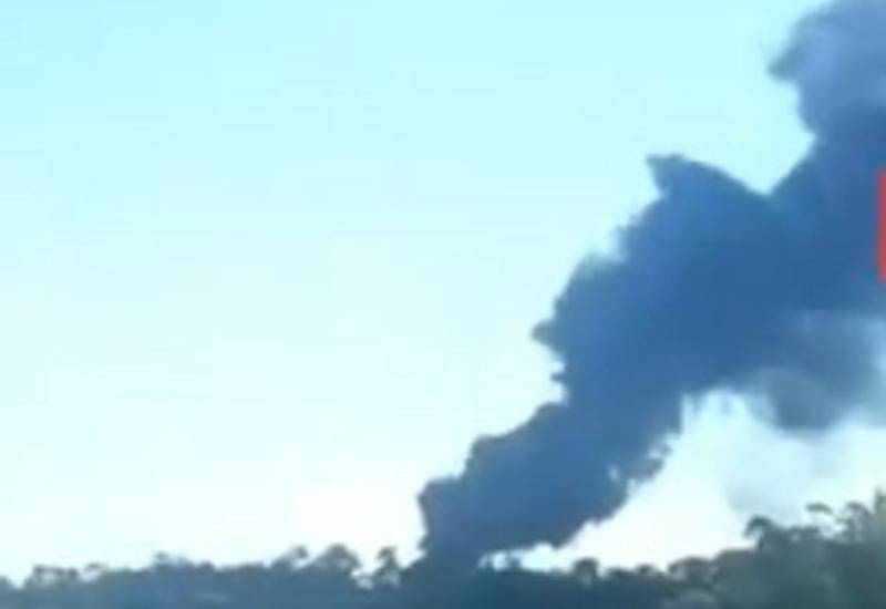 В Бразилии произошел пожар на крупном НПЗ