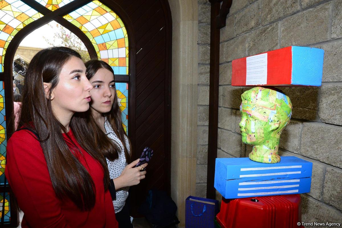 В рамках Фестиваля Насими представлены работы VIII Международной выставки «От отбросов к искусству»