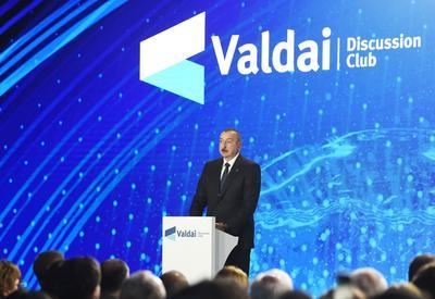 """Президент Ильхам Алиев: Понятия """"народ Нагорного Карабаха"""" не существует"""